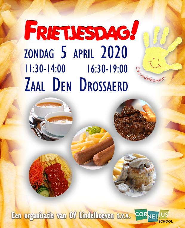Frietjesdag 5 april 2020 GEANNULEERD